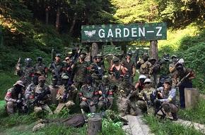 サバゲーフィールドGARDEN-Z 定例会