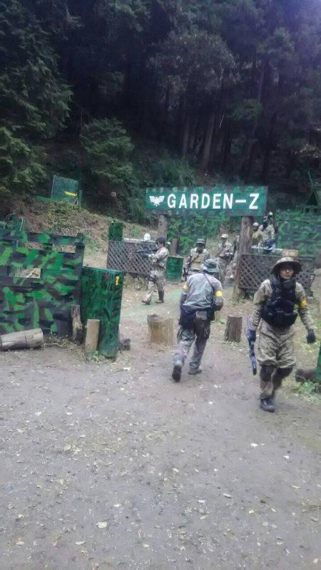 サバゲーフィールドGARDEN-Z 12月4日定例会