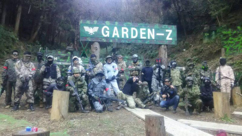 サバゲーフィールドGARDEN-Z 12月30日撃ち納めサバゲー