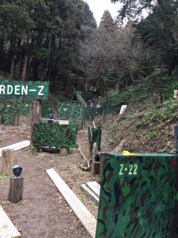 サバゲーフィールドGARDEN-Z 2月11日バレンタイン定例会