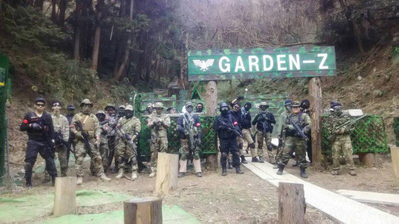 サバゲーフィールドGARDEN-Z 2月26日定例会