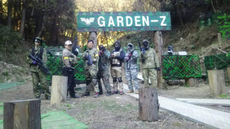 サバゲーフィールドGARDEN-Z 3月11日定例会