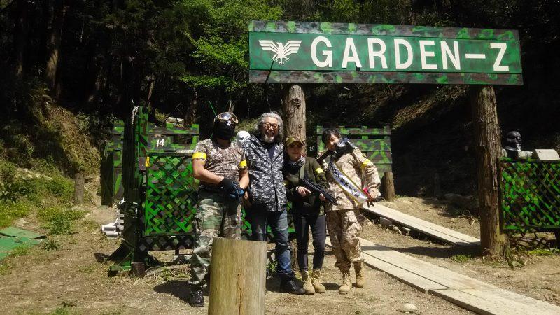 サバゲーフィールドGARDEN-Z 4月15日定例会