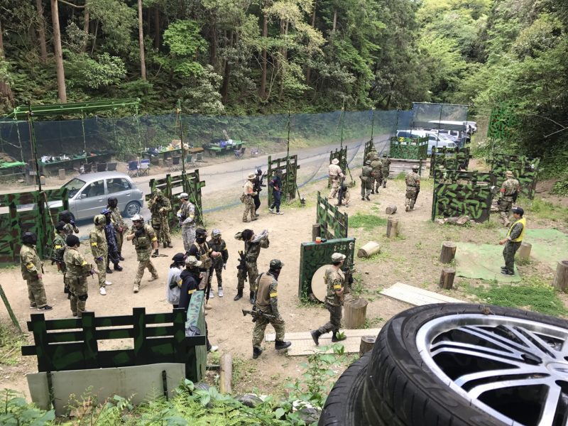 サバゲーフィールドGARDEN-Z 5月5日定例会