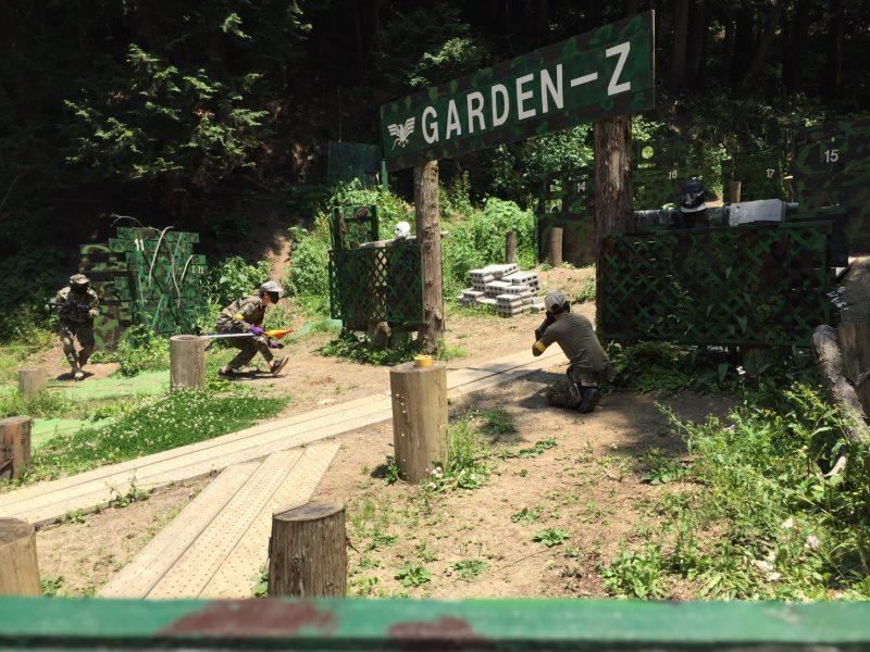 サバゲーフィールドGARDEN-Z 5月21日定例会