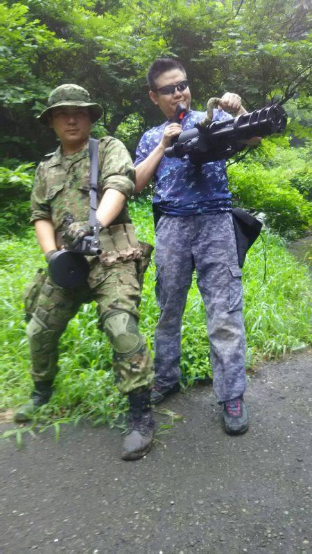 サバゲーフィールドGARDEN-Z 7月30日定例会