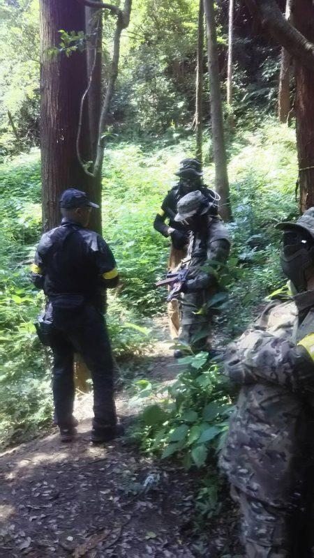 サバゲーフィールドGARDEN-Z 7月9日定例会