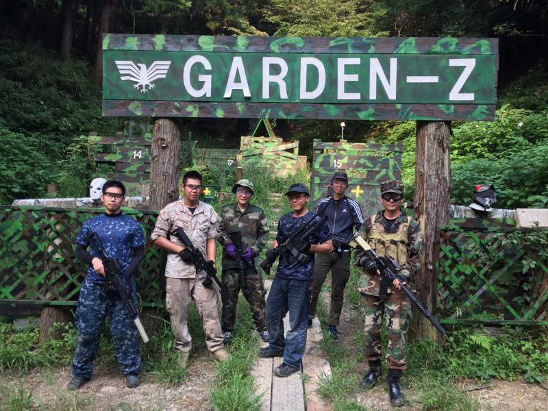サバゲーフィールドGARDEN-Z 8月26日定例会