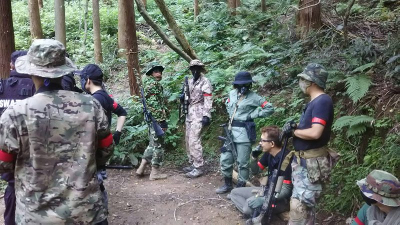 サバゲーフィールドGARDEN-Z 8月27日定例会
