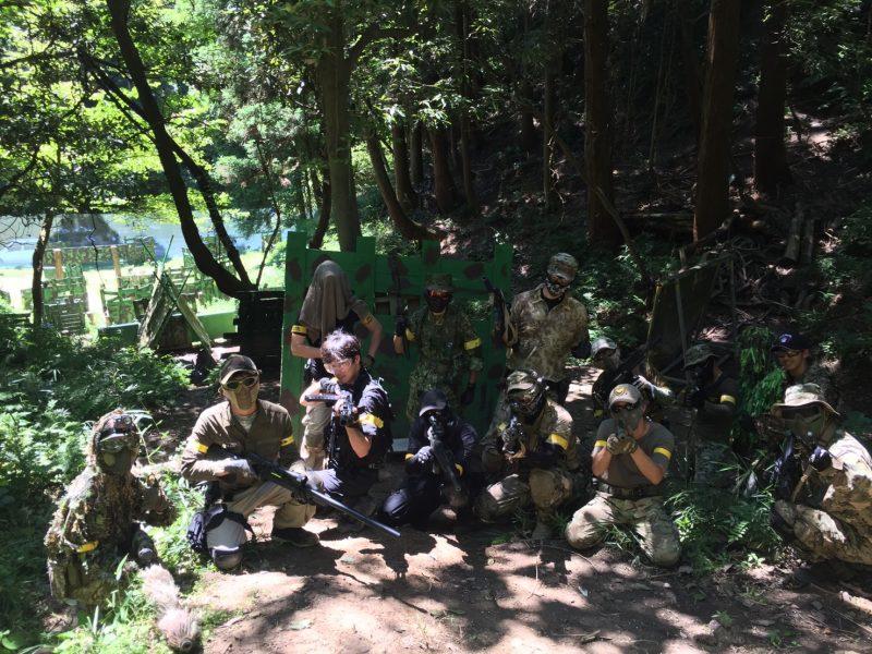 サバゲーフィールドGARDEN-Z 8月6日定例会