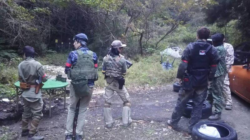 サバゲーフィールドGARDEN-Z 11月26日定例会