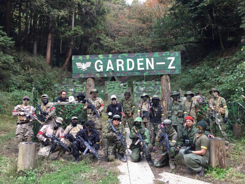 サバゲーフィールドGARDEN-Z 11月5日定例会