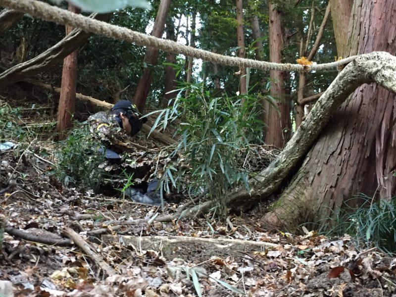 サバゲーフィールドGARDEN-Z 12月3日定例会