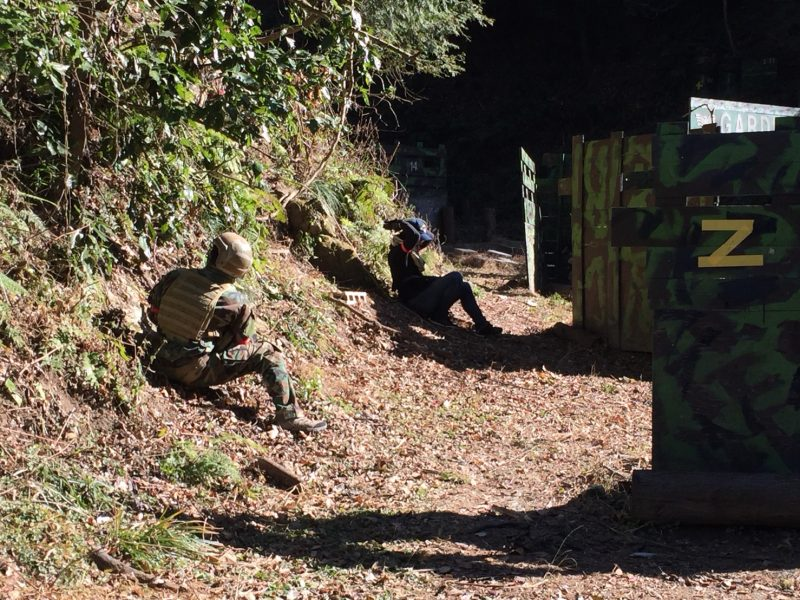 サバゲーフィールドGARDEN-Z 1月3日撃ち始めサバゲー