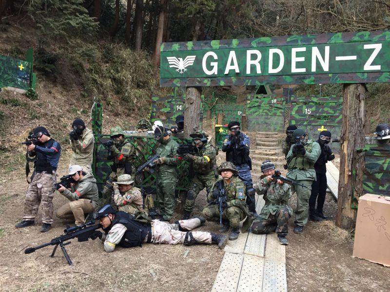 サバゲーフィールドGARDEN-Z 2月18日定例会