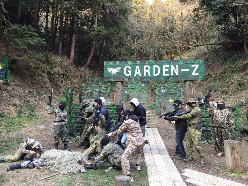 サバゲーフィールドGARDEN-Z 3月17日定例会