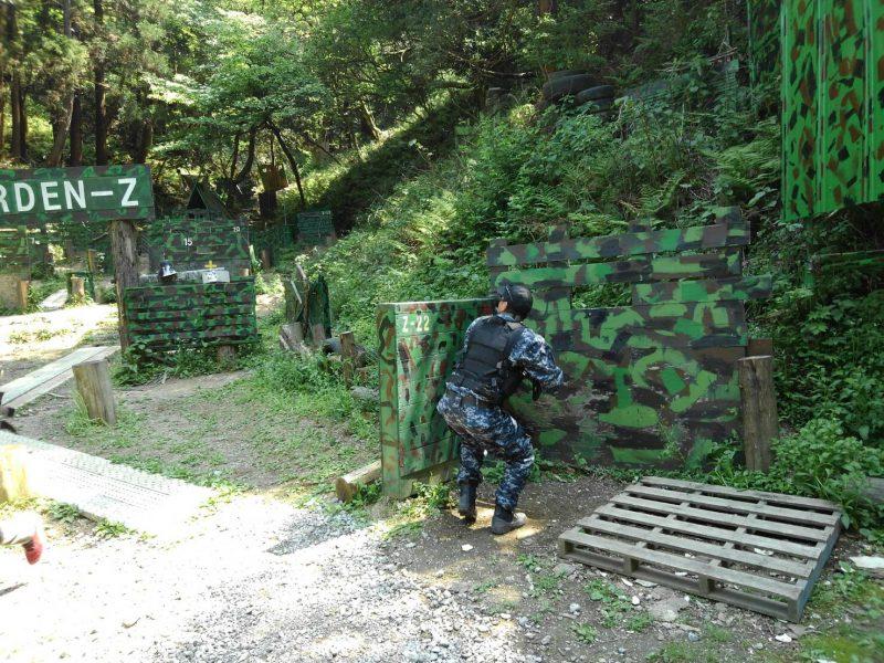 サバゲーフィールドGARDEN-Z 4月22日定例会