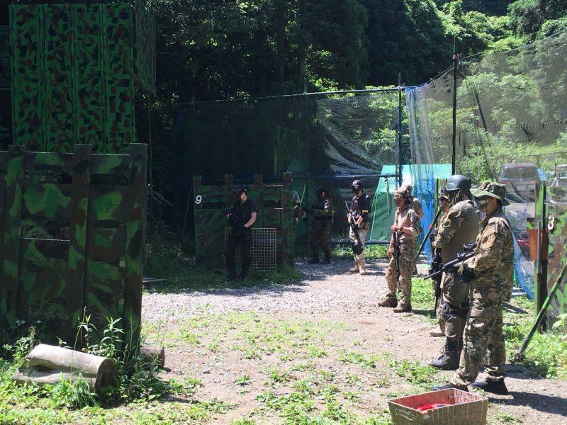 サバゲーフィールドGARDEN-Z 6月3日定例会