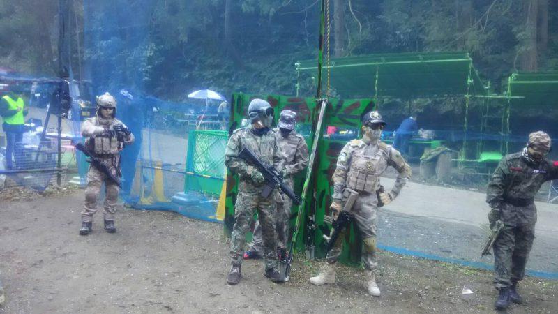 サバゲーフィールドGARDEN-Z 1月3日撃ち始め定例会