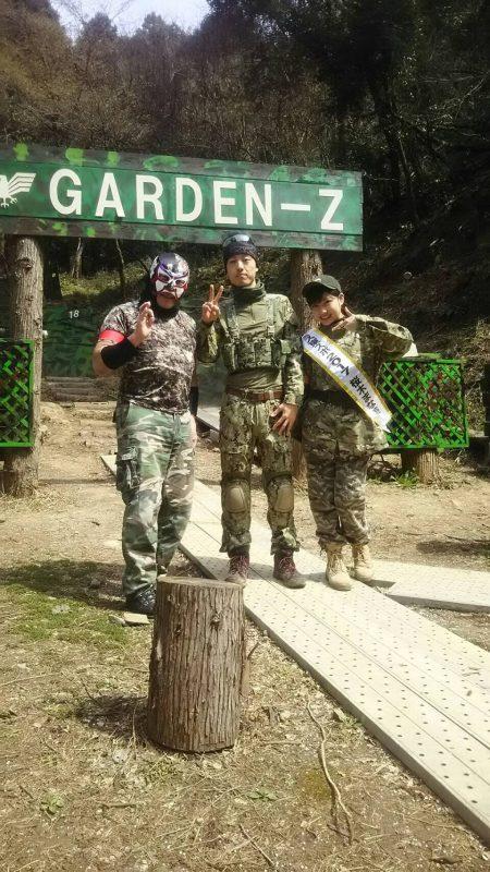 サバゲーフィールドGARDEN-Z 3月25日定例会