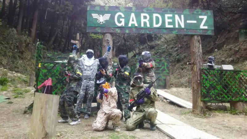 サバゲーフィールドGARDEN-Z 4月6日高橋様貸切