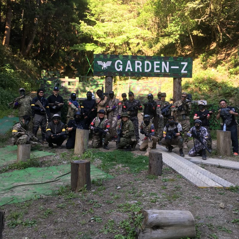 サバゲーフィールドGARDEN-Z 5月4日定例会