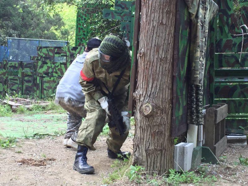 サバゲーフィールドGARDEN-Z 5月7日定例会