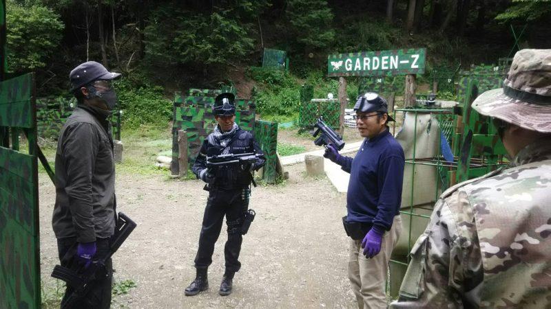 サバゲーフィールドGARDEN-Z 5月16日依田様貸切