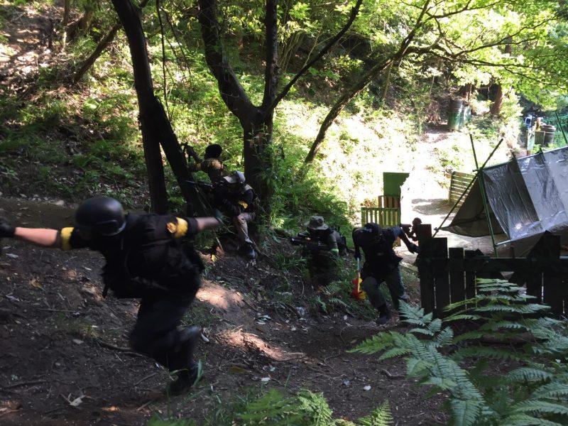 サバゲーフィールドGARDEN-Z 5月28日定例会