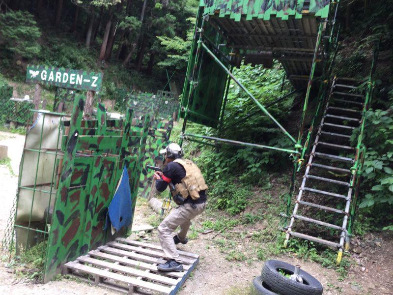 サバゲーフィールドGARDEN-Z 6月11日定例会