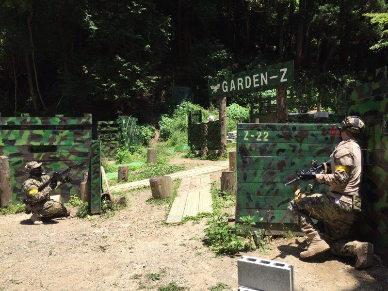 サバゲーフィールドGARDEN-Z 6月4日定例会