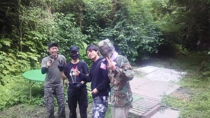 サバゲーフィールドGARDEN-Z 7月3日中川様貸切