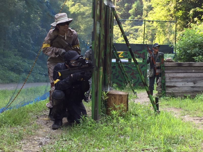 サバゲーフィールドGARDEN-Z 7月8日定例会