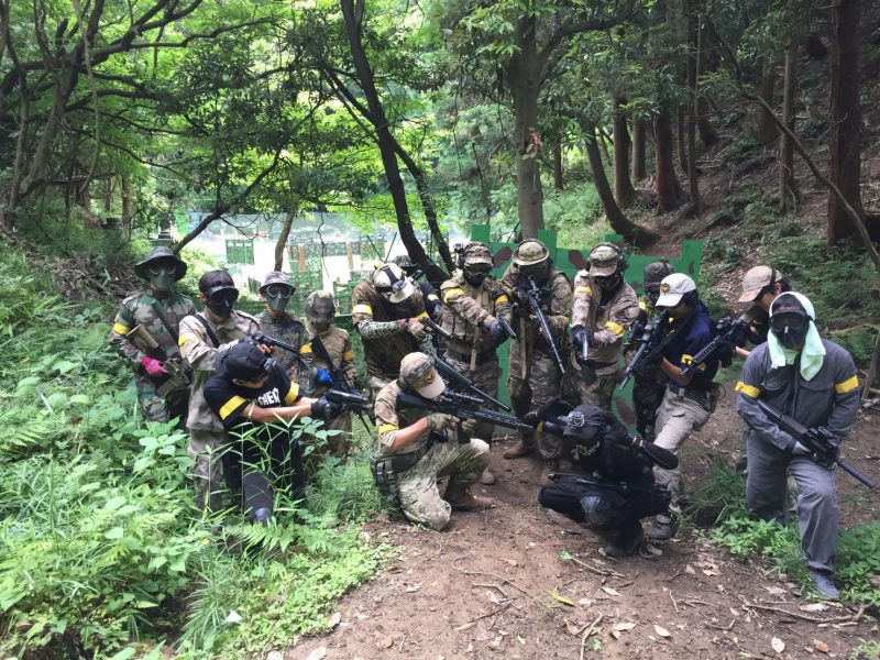 サバゲーフィールドGARDEN-Z 7月2日定例会