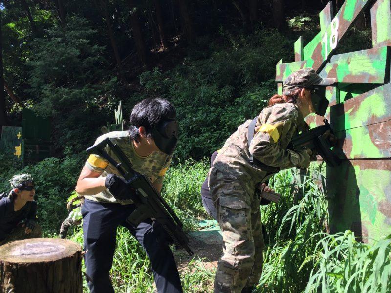サバゲーフィールドGARDEN-Z 8月19日鈴木様貸切
