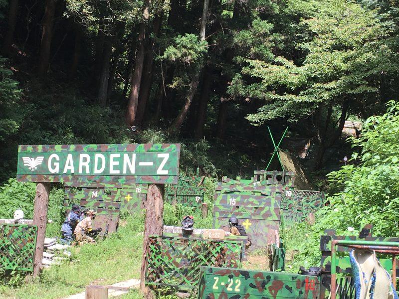 サバゲーフィールドGARDEN-Z 8月13日定例会