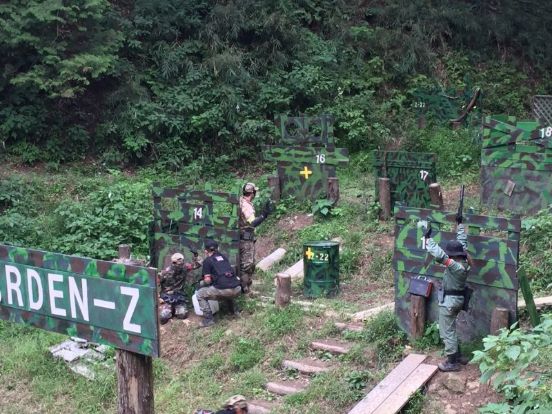 サバゲーフィールドGARDEN-Z 9月24日定例会