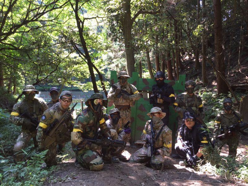 サバゲーフィールドGARDEN-Z 9月10日定例会