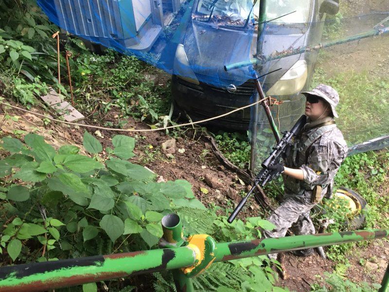 サバゲーフィールドGARDEN-Z 10月8日定例会