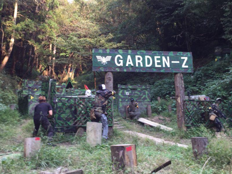 サバゲーフィールドGARDEN-Z 10月9日土屋様貸切