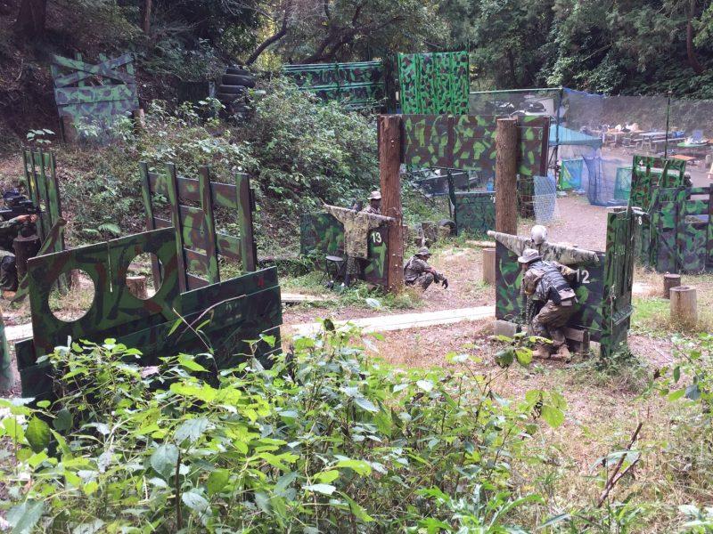 サバゲーフィールドGARDEN-Z 11月19日定例会