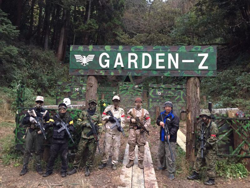 サバゲーフィールドGARDEN-Z 11月25日定例会
