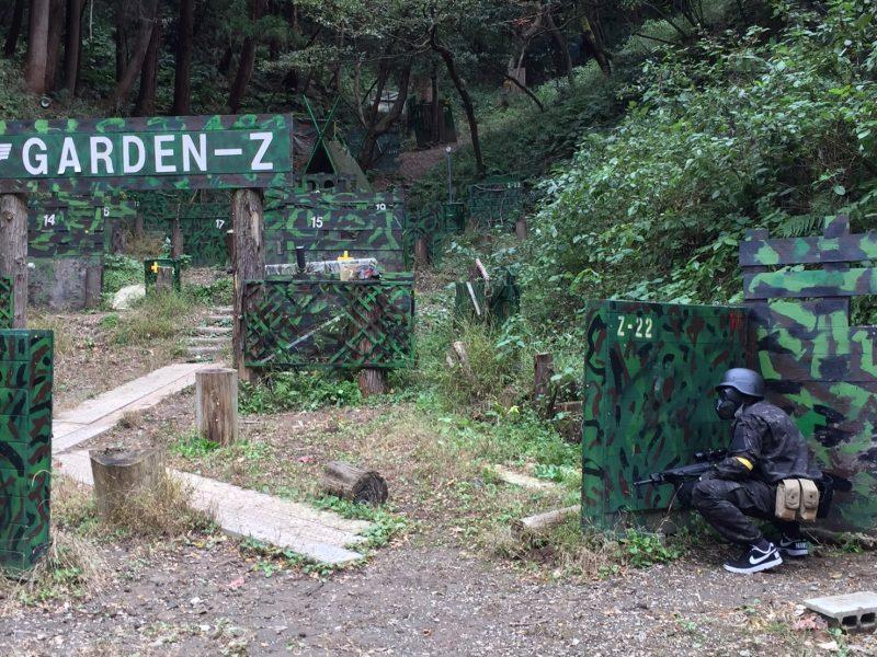 サバゲーフィールドGARDEN-Z 11月12日定例会