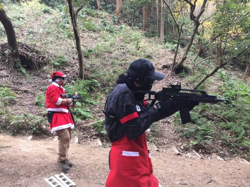 サバゲーフィールドGARDEN-Z 12月24日クリスマスサバゲー