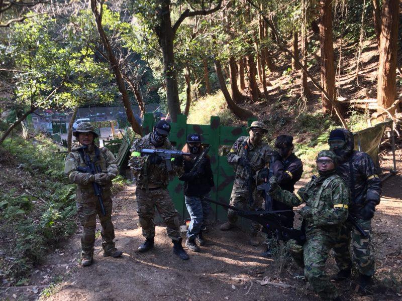 サバゲーフィールドGARDEN-Z 12月30日撃ち納め定例会