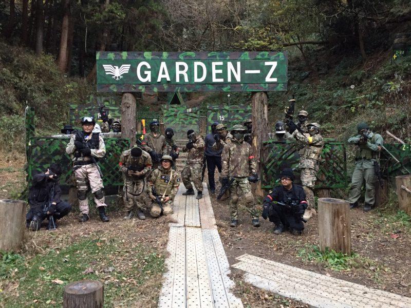 サバゲーフィールドGARDEN-Z 12月10日定例会