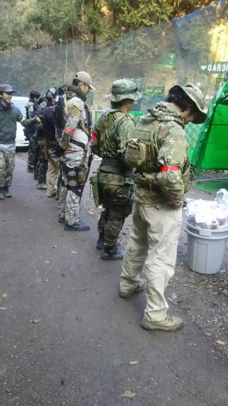 サバゲーフィールドGARDEN-Z 1月21日定例会