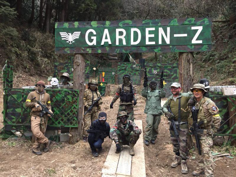 サバゲーフィールドGARDEN-Z 2月10日定例会