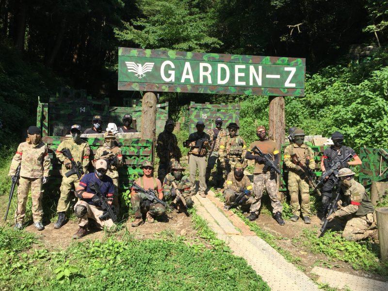サバゲーフィールドGARDEN-Z 6月17日定例会