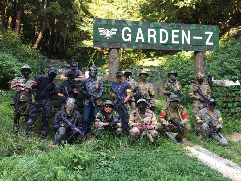 サバゲーフィールドGARDEN-Z 8月18日定例会